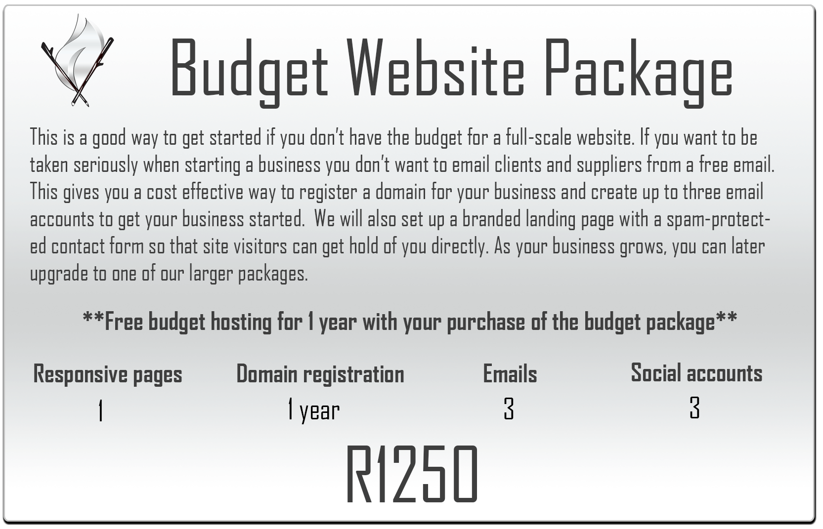 Budget website package