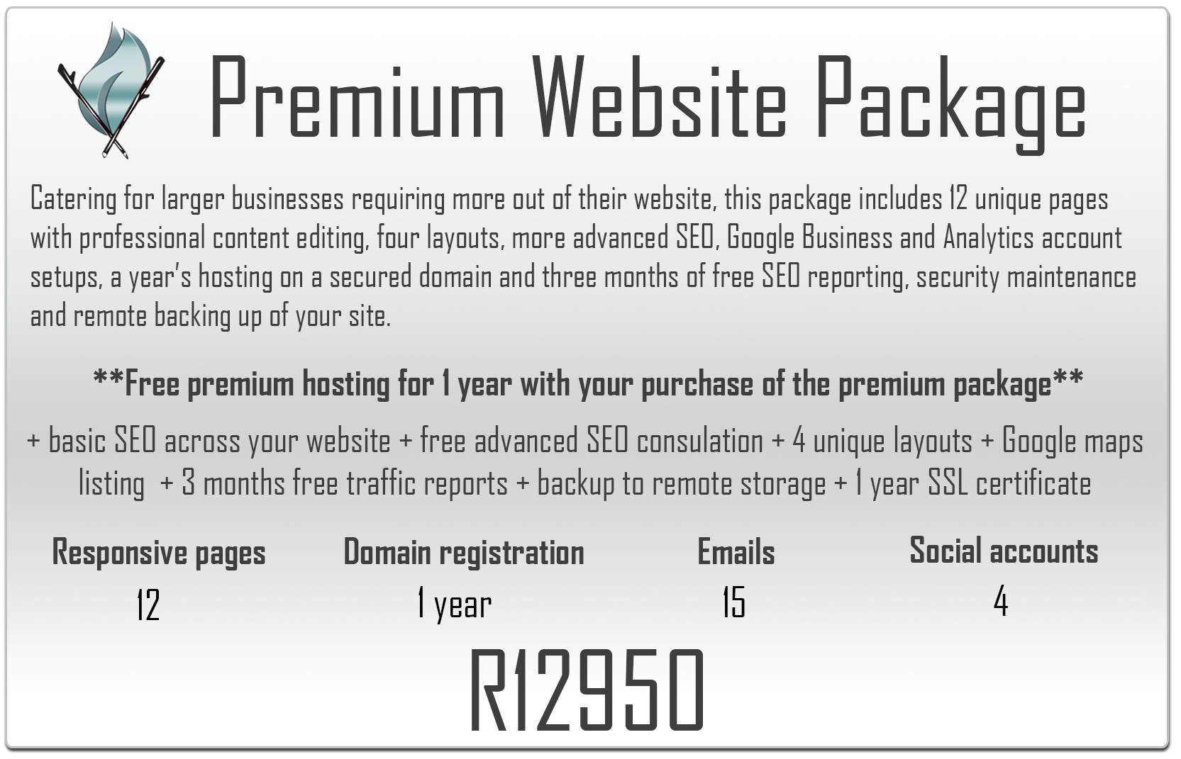 Premium Website Package Veldfire Digital