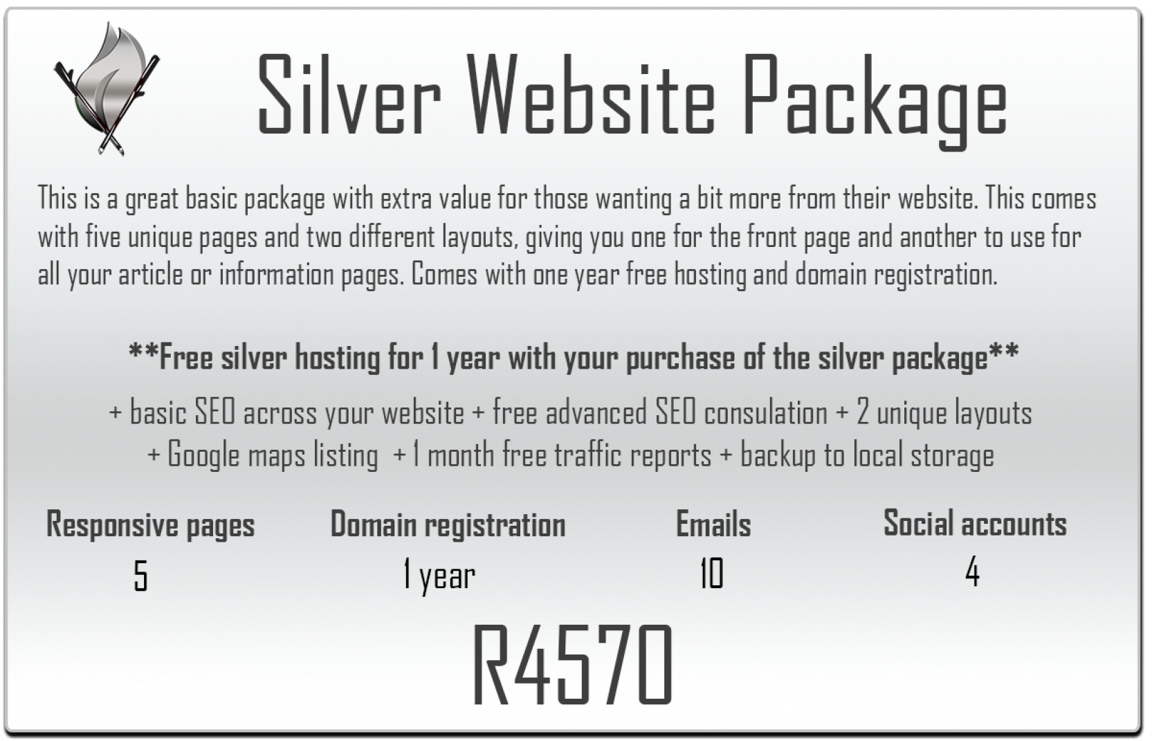Silver website package