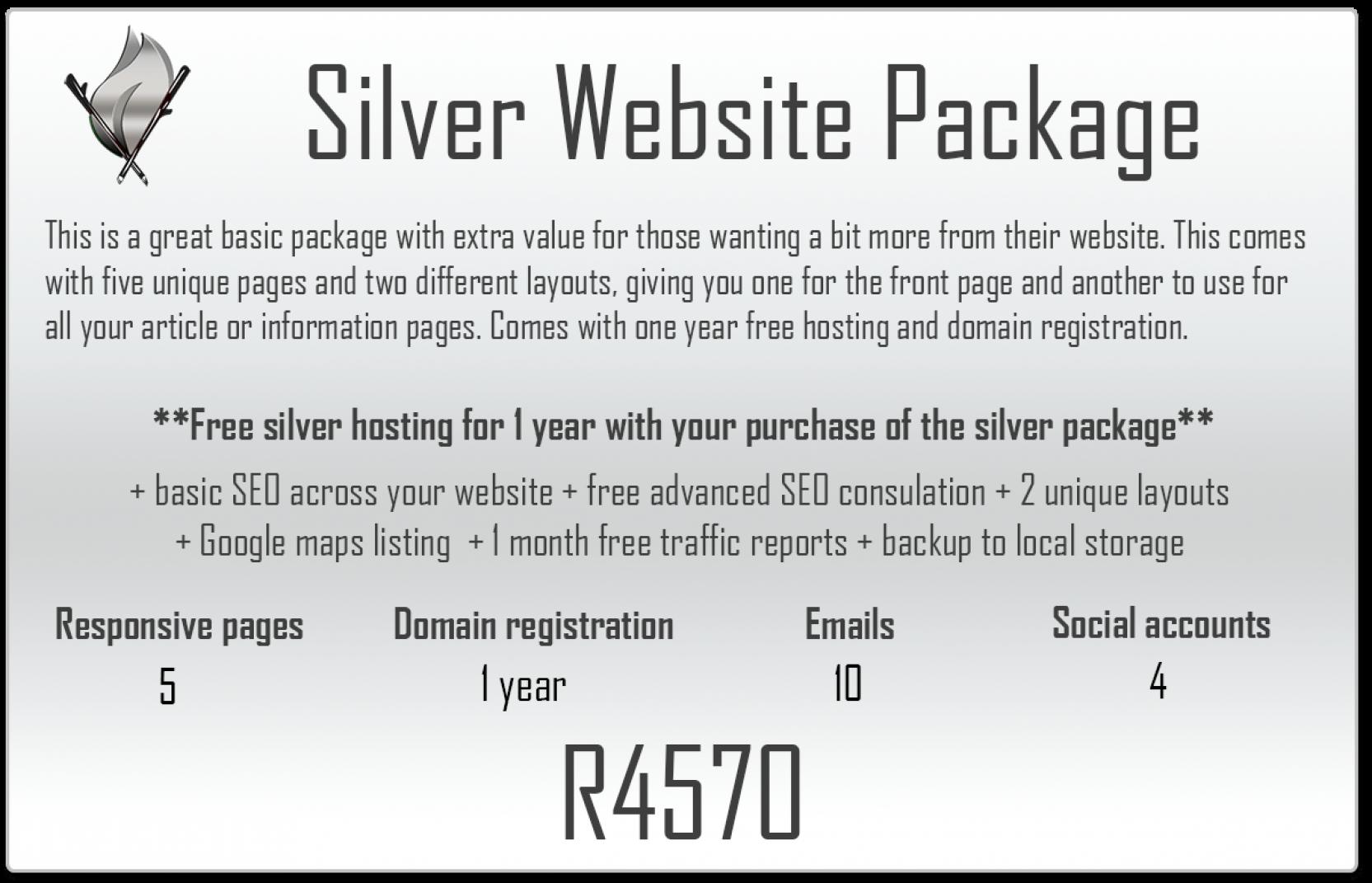 Silver website package