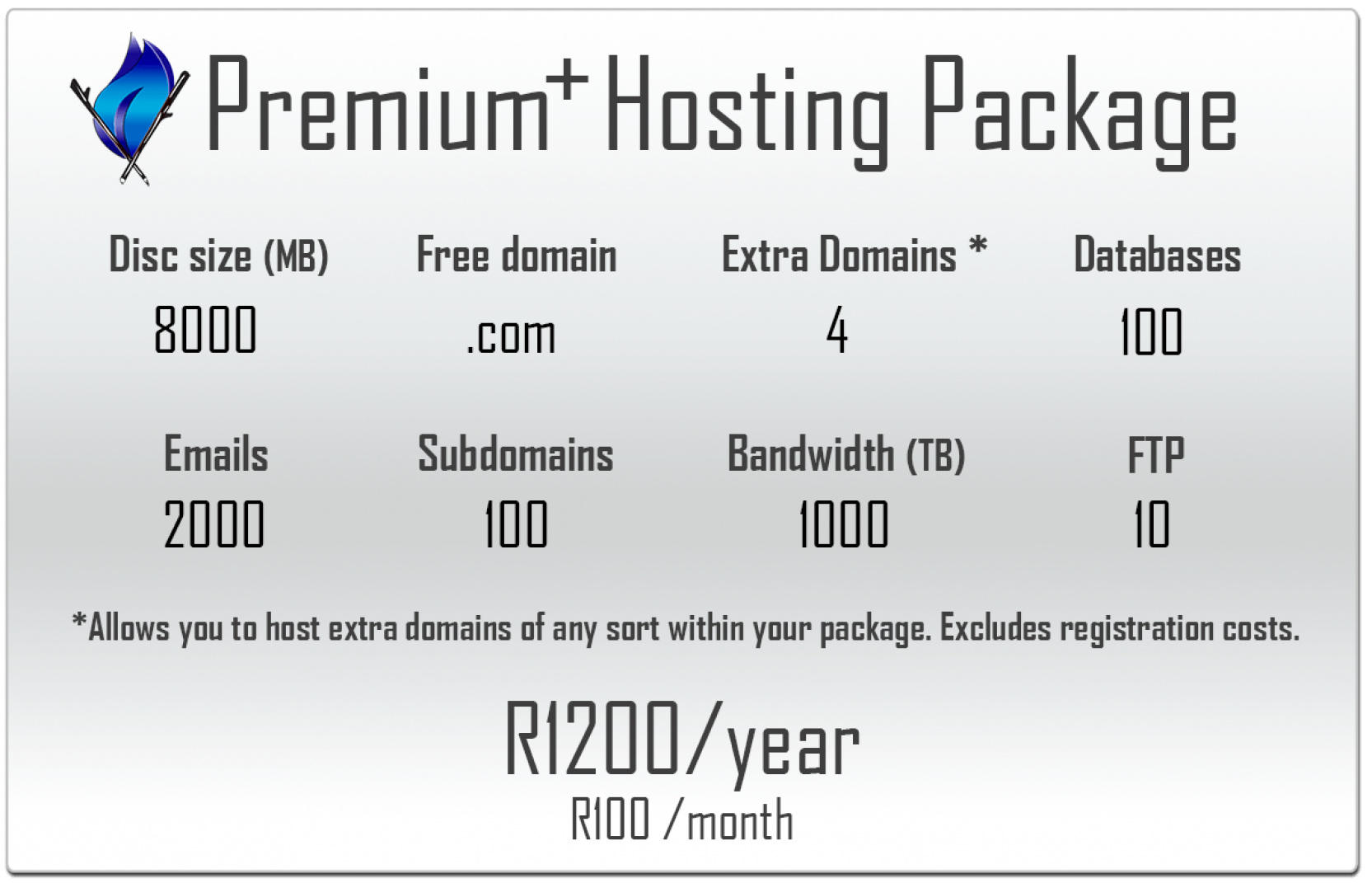 Premium Plus Hosting Package