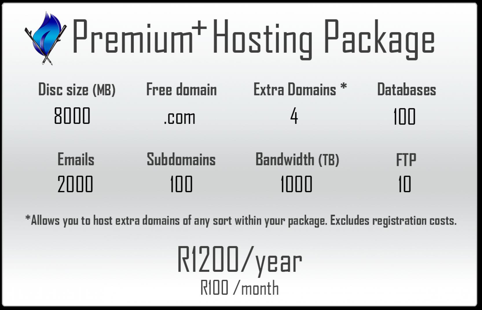 Premium Plus Hosting Package